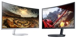 Samsung unveils curved Quantum Dot gaming monitors with AMD FreeSync