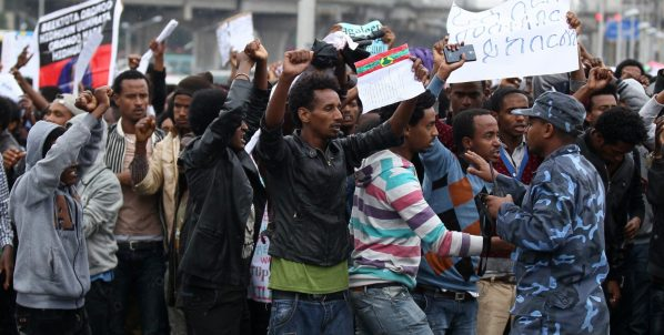 How the Ethiopia protests had been stifled via a coordinated net shutdown